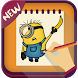 How To Draw Despicable Me 2017 by iDev-New : Drawing Apps