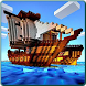 Pirates ship for minecraft pvp by Anglery Harpery