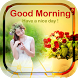 Good Morning Photo Frame by Ketch Frames