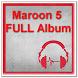 Maroon 5 FULL Album by zyan_app