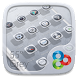 55° Grey GO Launcher Theme by Freedom Design
