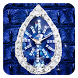 Luxurious Diamond Clock Theme by hotthemeteam