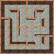3D classic maze runner