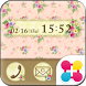 Flower Antique Wallpaper by +HOME by Ateam
