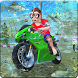 Kids Underwater MotorBike Race Adventure by KidRoider