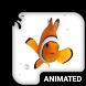 Clown Fish Animated Keyboard by Wave Design Studio