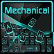 Classic Mechanical Keyboard by Luxury Keyboard Theme
