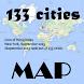 Abidjan Map by Tree Widget