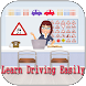 Learn Driving Easily by the free app pro