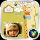 Giraffe Stickers LiveWallpaper by vlifepaperzone