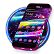 Neon Sparkle Line Theme by Launcher Fantasy