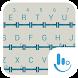 Simple Blue Wood Keyboard by TouchPal HK