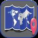 خريطة العالم وتحديد المواقع by ramela