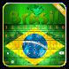 Brazil Flag Keyboard by Libbs Apps Mania