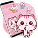 Cute Pink Kitty Theme Kawaii Sweet icon by Astonish Themes Studio