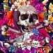 rock skull wallpaper graffiti by Best Custom Theme