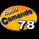 Rádio Comando 78 by www.wkyhost.com.br