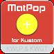 MatPop for Kustom KLWP/KWGT by BaconBits