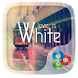 Love Is White GOLauncher Theme by Freedom Design