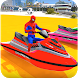 Superheroes Jet Ski Stunts: Top Speed Racing Games by Let's Game