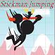 Stickman Jumping by Taswika Wilson
