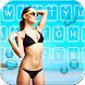 Hot Bikini Girls Keyboard theme by HD Theme launcher Creator