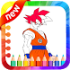 Super Saiyan Best Coloring Game by Saliha Studio