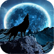 Blue Moon Wolf Live Wallpaper by Candy Jausner Apps
