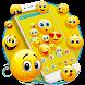 Happy Emoji launcher Theme by Pink Theme Designer