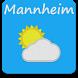 Mannheim - Das Wetter by Dan Cristinel Alboteanu