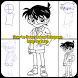 How to Draw Conan Edogawa & Friends Full Body by hanariaapps