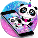 Cuteness Panda Colorful Crayon Theme by Beauty Stylish Theme