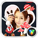 Beauty Stickers Live Wallpaper by vlifepaperzone