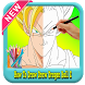 How To Draw : Dragon Ball Z Super *Easy Step* by app4childrens