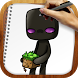 Draw Minecraft by Happy Drawings Games