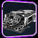 Clockwork Mechanism LWP by Wallpapers Studio Pro