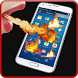 Fire Screen Prank by unidroid