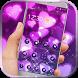 Glitter Purple Heart by alicejia2017