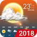 Hourly weather forecast by Weather Team (forecast, radar, widget, recorder)
