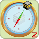 Qibla compass by Zemkoapps
