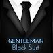 Gentleman Black Suit Keyboard by Inner Works Studios