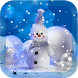 snowman christmas wallpaper by Rongmiss Studio