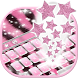 Pink Zebra Keyboard Theme by Best Free Android Themes
