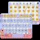 Doodle Emoji Keyboard Theme by Colorful Design