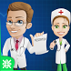 Nurse VS Doctor Kids Game 2017 by oxoapps.com