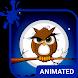 Cute Owl Animated Keyboard by Wave Keyboard Design Studio