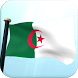 Algeria Flag 3D Free Wallpaper by I Like My Country - Flag