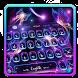Fluorescent Butterflies Keyboard Theme by HD Live Wallpaper 2017