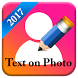 TexoPic : Text on your Profile picture by Maha Apps