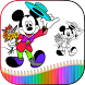 How To Draw Mickey Mouse characters by KnowledgeApp.Inc